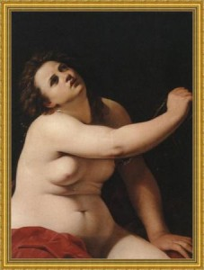 Cleopatra (Artemisia Gentileschi)